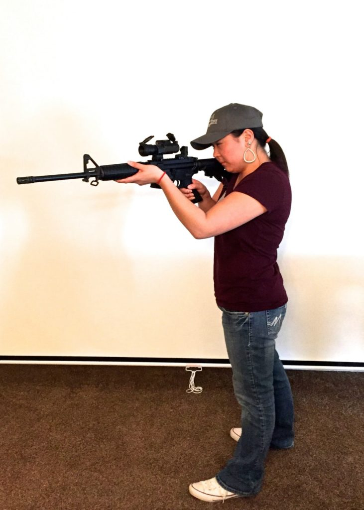 Basic Rifle Classes Boise-Billie-Shadow Dawg Firearms Academy