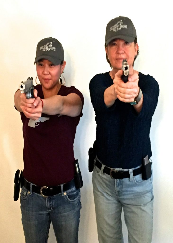 Idaho CCW Classes Boise-Billie and Elaine-Shadow Dawg Firearms Academy