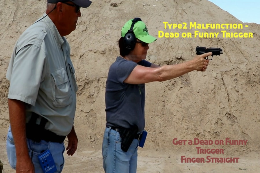 Idaho Firearms Classes Boise-Type 2 Handgun Malfunction-Dead or Funny Trigger