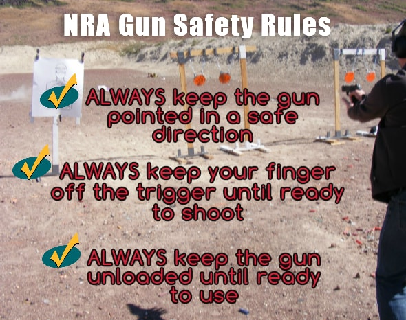 Idaho NRA Classes Gun Safety Rules