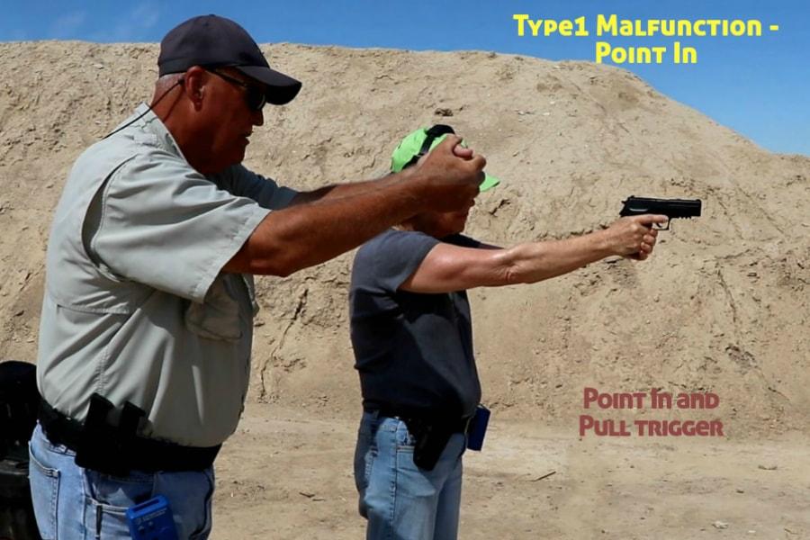 firearms training boise idaho-type 1 handgun malfunction-point in