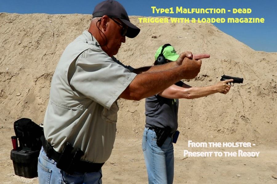 firearms training boise idaho-type 1 handgun malfunction-present to the ready