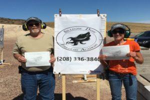 firearms training in boise-shadow dawg firearms academy