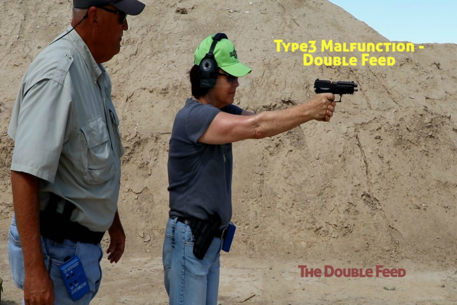 gun training classes boise id-Type 3 handgun Malfunction-Double Feed