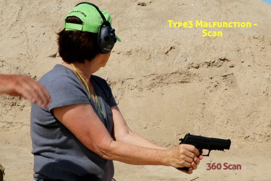 gun training classes boise id-Type 3 handgun Malfunction-scan
