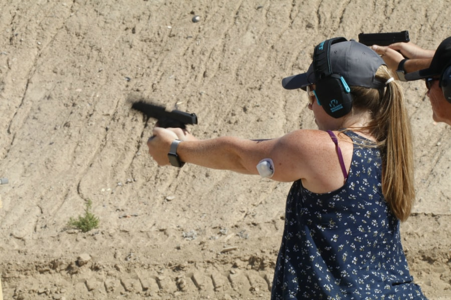 Women Handgun Training
